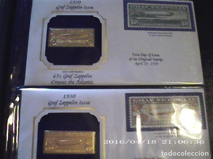 Joyeria: Única en T.Colección 100 SELLOS de oro 22 kilates colección completa de 18847 a 1932 USA - Foto 45 - 221436296