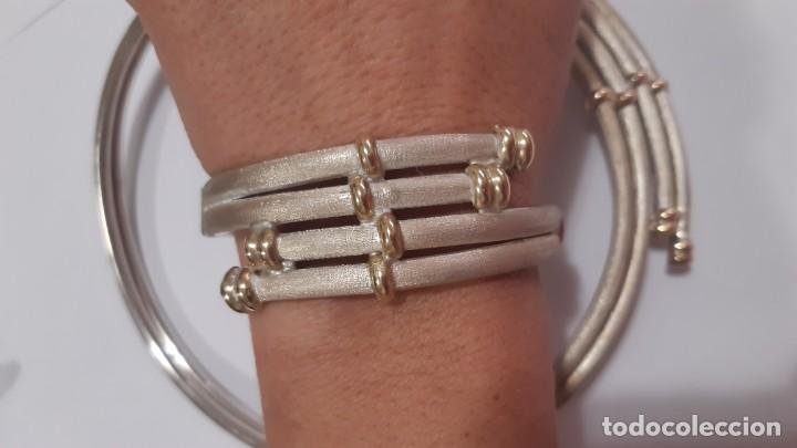 Joyeria: Conjunto plata y oro - Foto 2 - 221516126