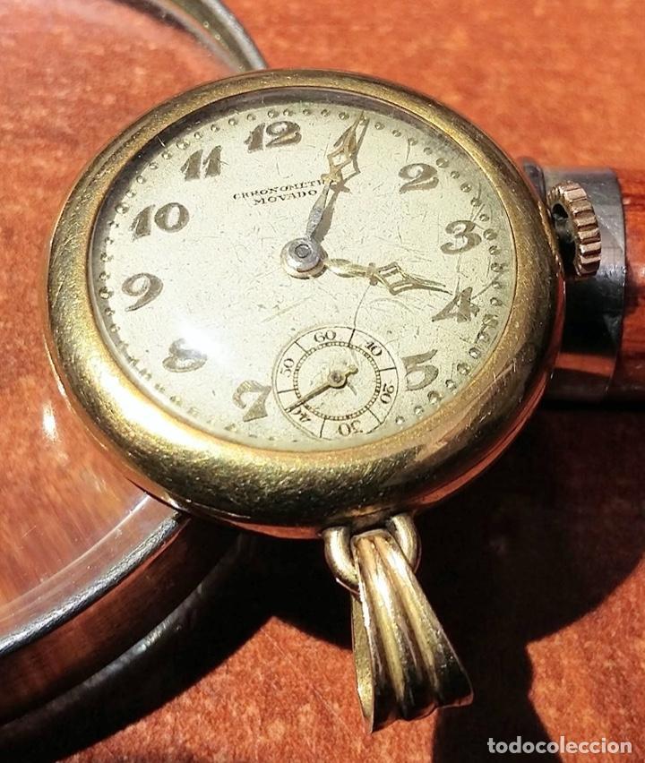 Joyeria: Reloj Cronometro Movado. De primeros de siglo XX. Funciona. - Foto 2 - 211256499