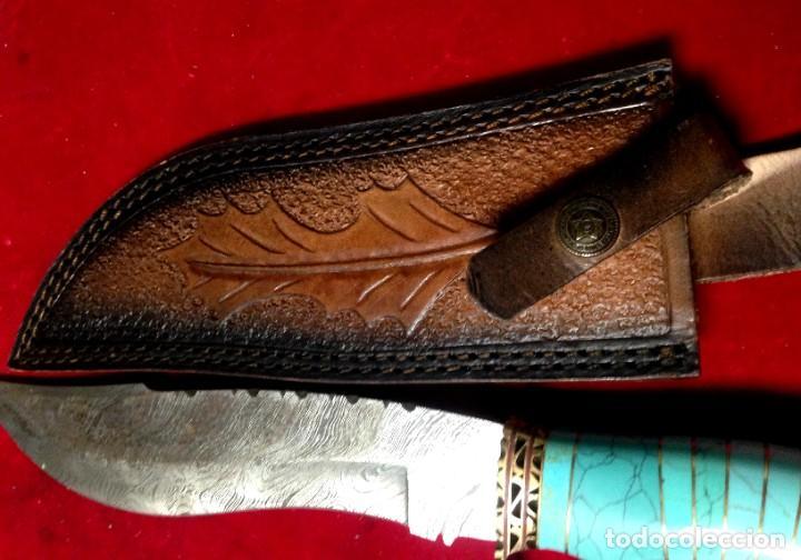 Joyeria: Cuchillo joyeria.mango piedra turquesa en Damasco - Foto 4 - 223652371