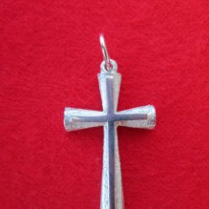 Joyeria: COLGANTE EN PLATA DE LEY - CRUZ DE CRISTO - SIN ESTRENAR. Lote 223958830