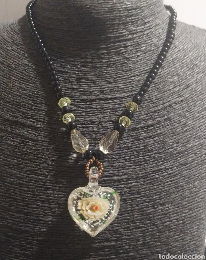 Joyeria: Precioso Collar cristal de Murano, antiguo - Foto 2 - 224344468