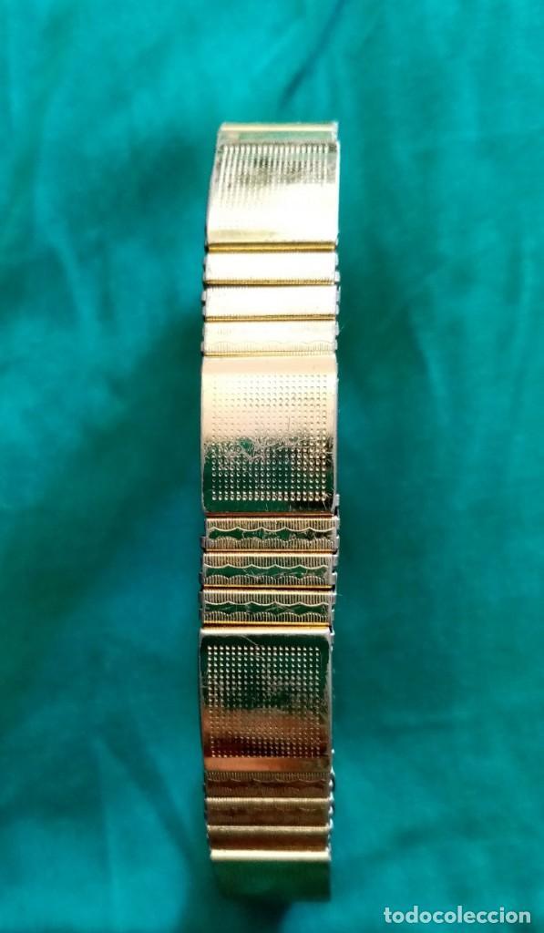 Joyeria: Preciosa pulsera, brazalete. Combina dos colores dorado y plateado. Muy lucida - Foto 4 - 224847890