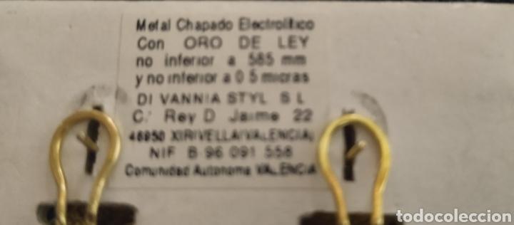 Joyeria: Lindos Pendientes de joyería,chap.oro - Foto 2 - 224916028
