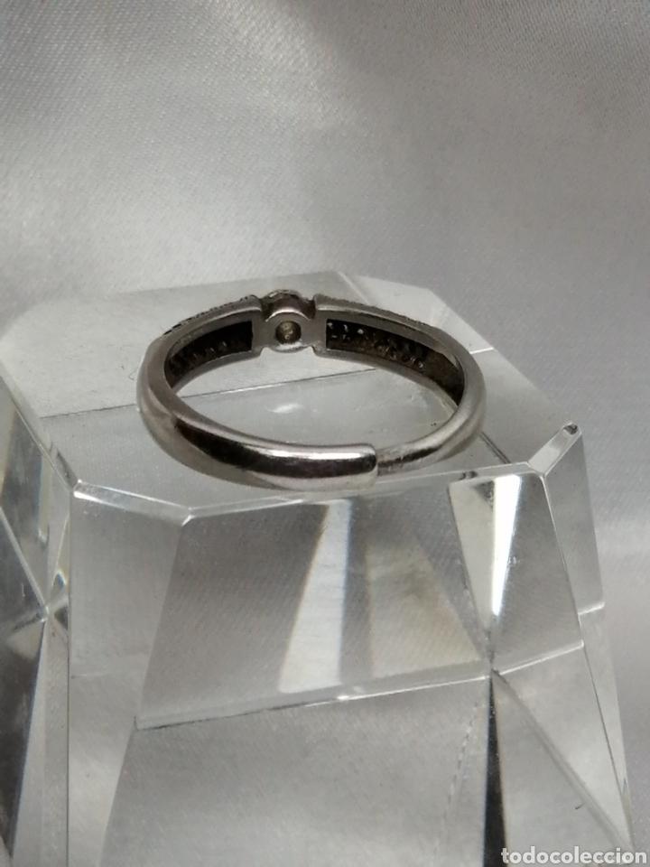 Joyeria: Anillo ajustable plata de ley y cuarzo blanco - Foto 3 - 224980535
