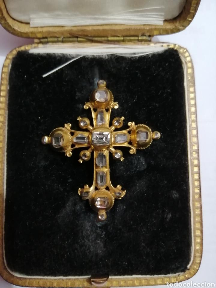 Joyeria: Espectacular cruz en oro y diamantes talla antigua Salamanca siglo XVIII - Foto 4 - 225925275