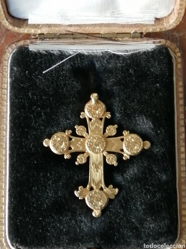 Joyeria: Espectacular cruz en oro y diamantes talla antigua Salamanca siglo XVIII - Foto 5 - 225925275