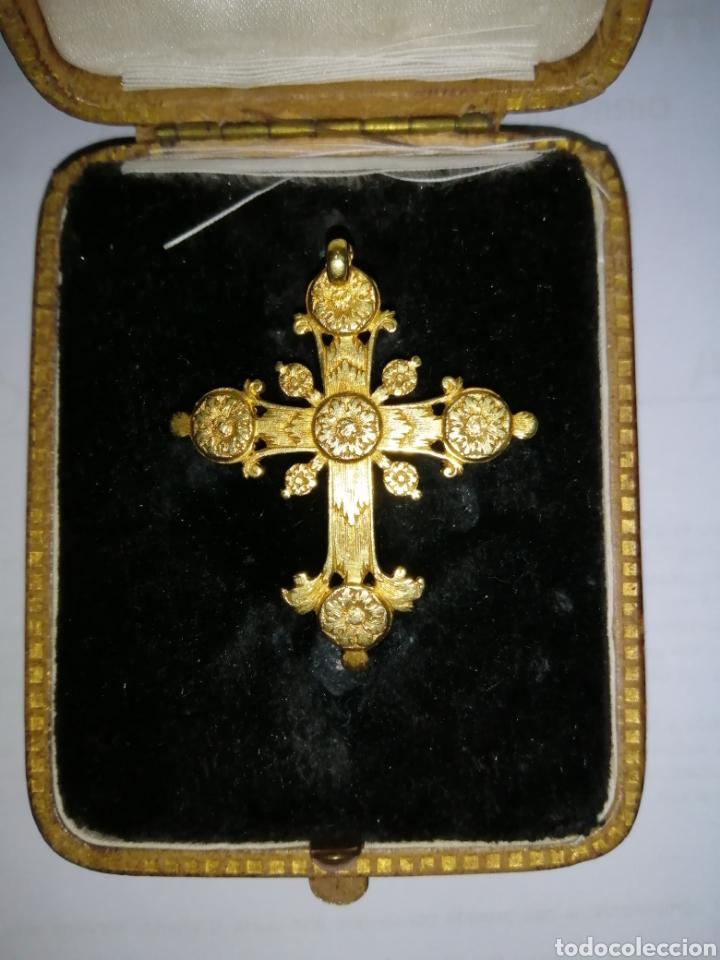 Joyeria: Espectacular cruz en oro y diamantes talla antigua Salamanca siglo XVIII - Foto 6 - 225925275