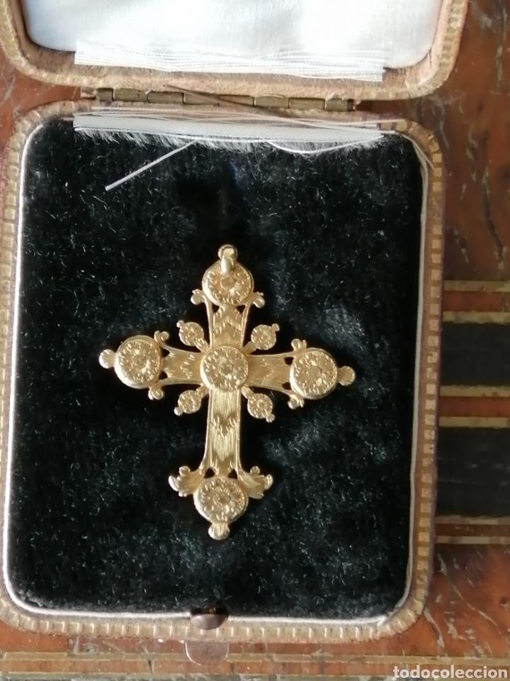 Joyeria: Espectacular cruz en oro y diamantes talla antigua Salamanca siglo XVIII - Foto 8 - 225925275