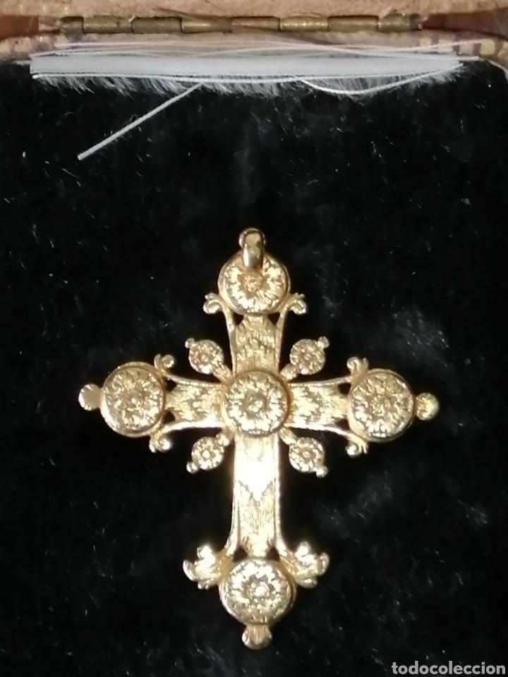 Joyeria: Espectacular cruz en oro y diamantes talla antigua Salamanca siglo XVIII - Foto 10 - 225925275