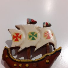 Joyeria: BONITO Y ORIGINAL BROCHE MADERA.. Lote 226608245