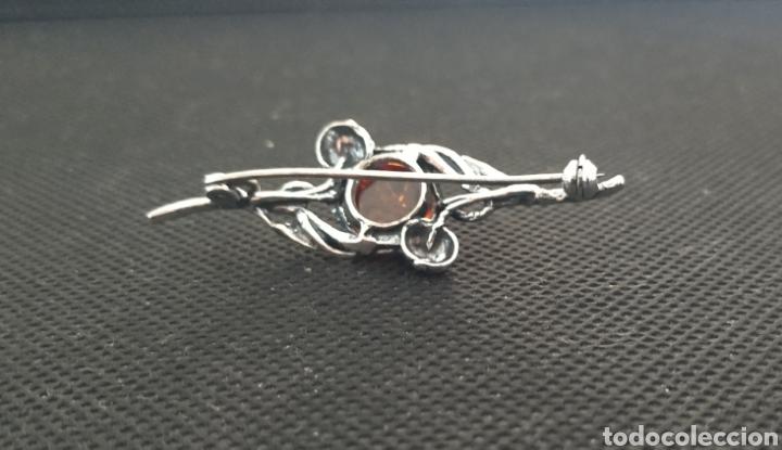 Joyeria: Precioso Broche de ámbar y plata de ley, art noveau - Foto 4 - 227961325