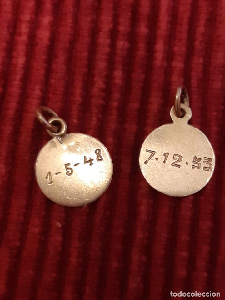 Joyeria: Dos medallistas de oro de 18 quilates - Foto 2 - 228148250
