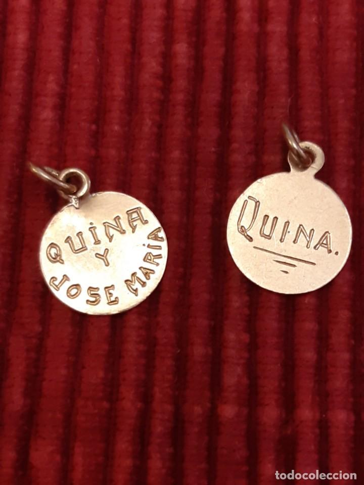 Joyeria: Dos medallistas de oro de 18 quilates - Foto 3 - 228148250