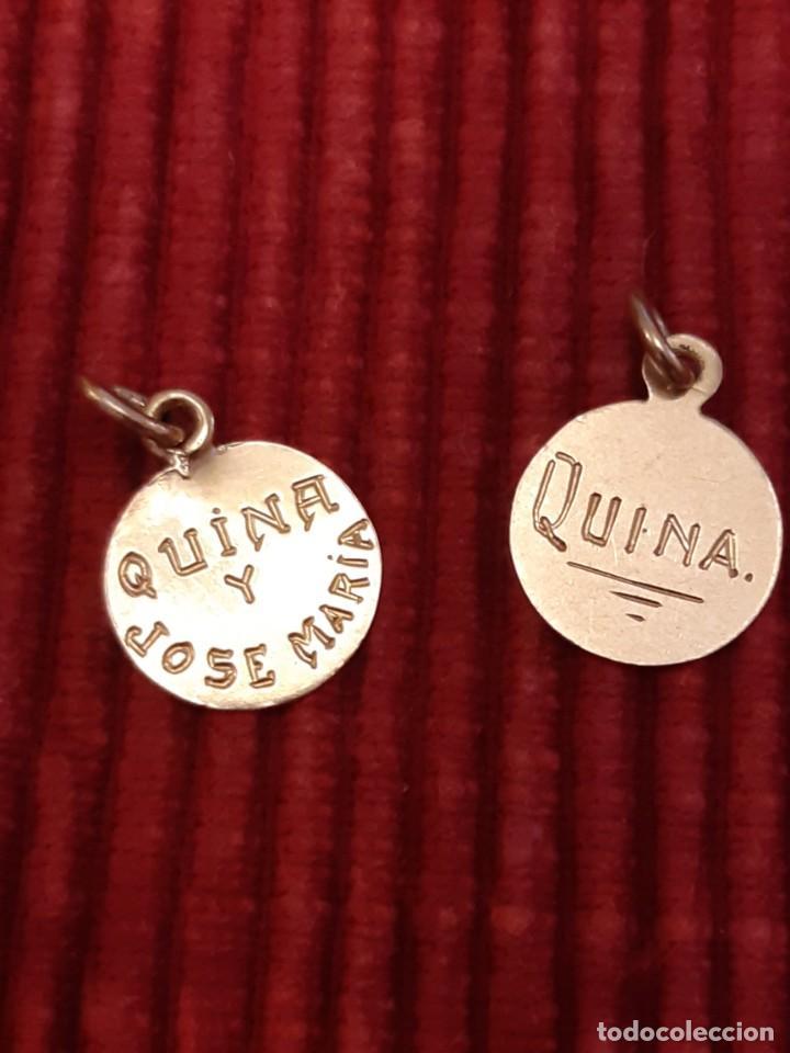 Joyeria: Dos medallistas de oro de 18 quilates - Foto 4 - 228148250