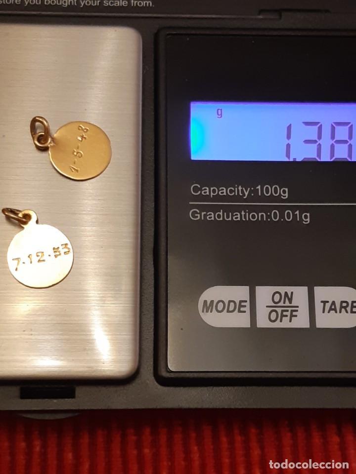 Joyeria: Dos medallistas de oro de 18 quilates - Foto 7 - 228148250