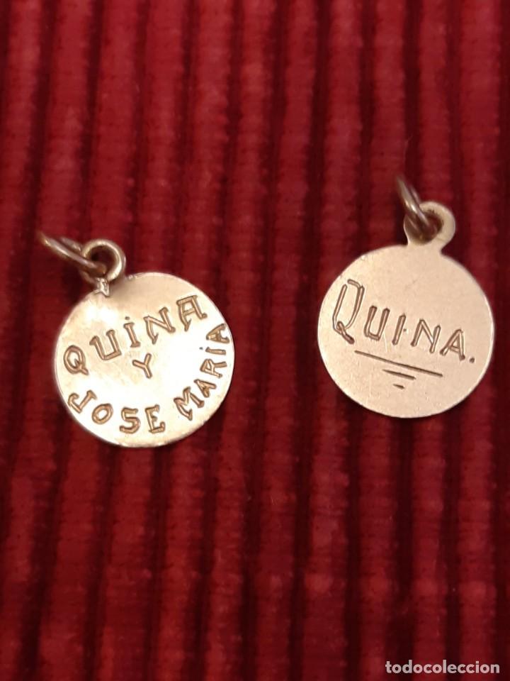 Joyeria: Dos medallistas de oro de 18 quilates - Foto 8 - 228148250