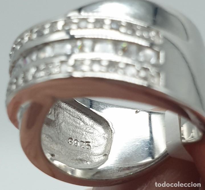 Joyeria: Anillo plata ley 925 y zirconitas. - Foto 3 - 228914435