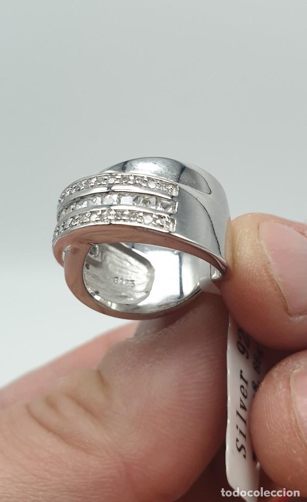 Joyeria: Anillo plata ley 925 y zirconitas. - Foto 4 - 228914435