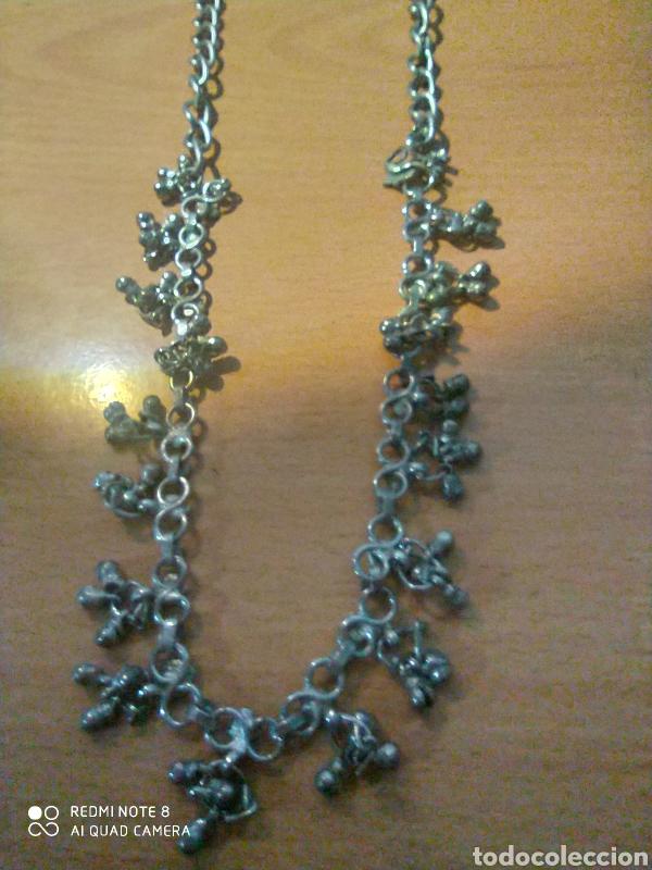 Joyeria: Maravilloso collar largo con ribetes de 70.cemtimetros. - Foto 2 - 229254470
