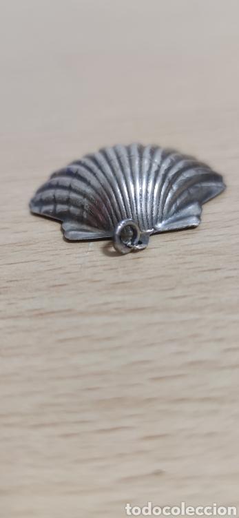 Joyeria: Colgante en plata de ley representando concha vieira. - Foto 3 - 229426765