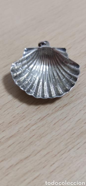 Joyeria: Colgante en plata de ley representando concha vieira. - Foto 4 - 229426765