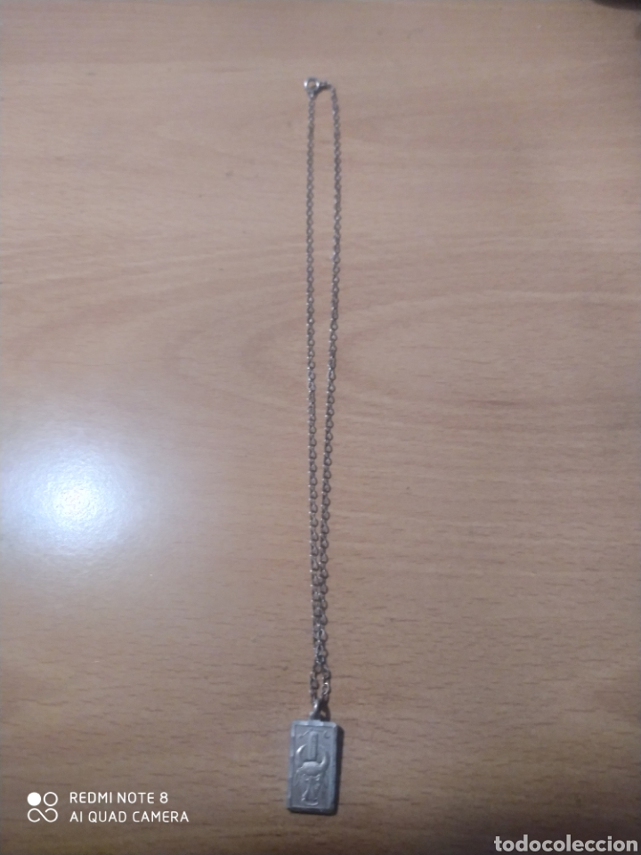 Joyeria: Chapilla de plata de ley 925 colgante signo.tauro con cadena eslabones - Foto 2 - 229601415