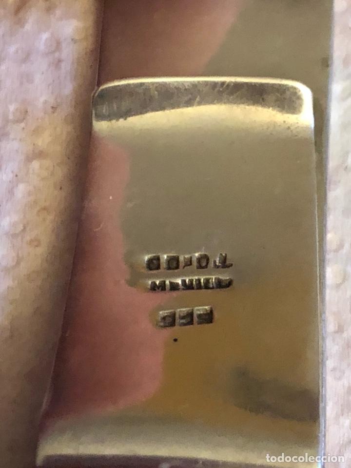 Joyeria: Bonita pinza para billetes, plata de ley - Foto 3 - 232187605