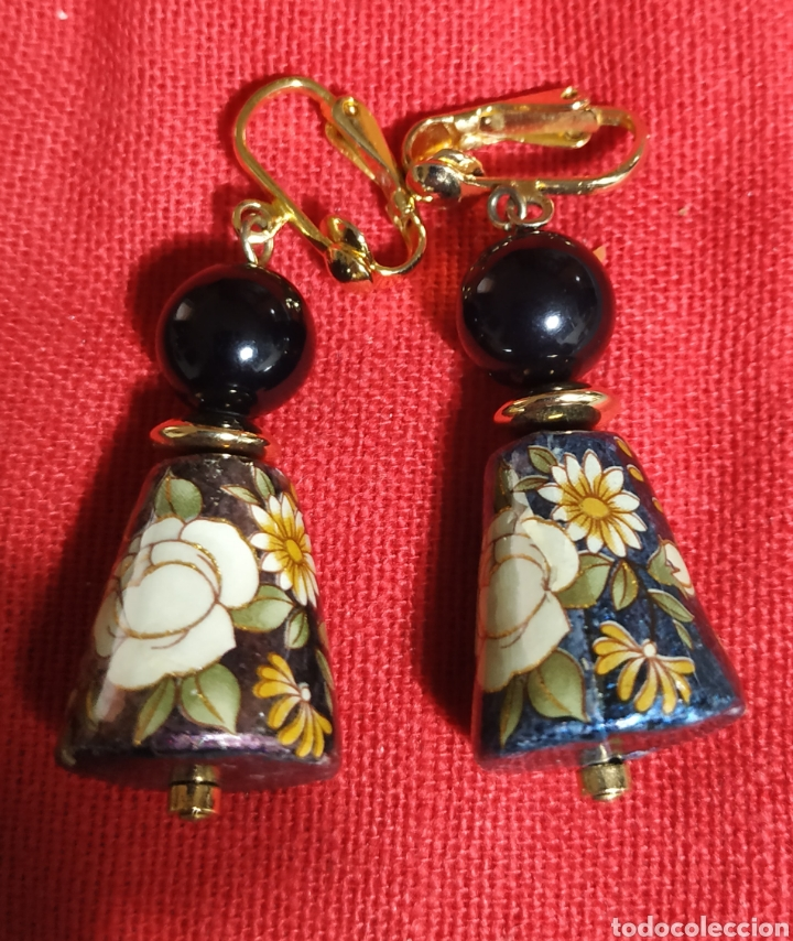 Joyeria: Lindos Pendientes Bisutería de lux Antiguos - Foto 2 - 232687560