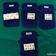 Joyeria: PENDIENTES DE PLATA 925 VARIOS GRANDE. Lote 233165460