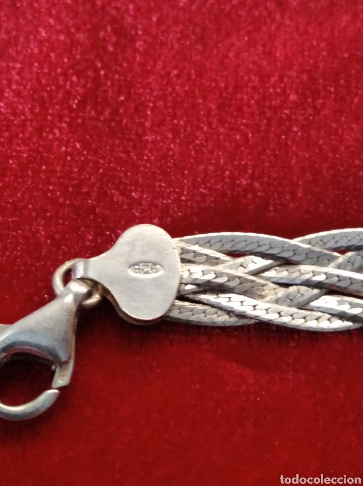 Joyeria: Pulsera tejido italiano en plata de ley vintage - Foto 3 - 234918285
