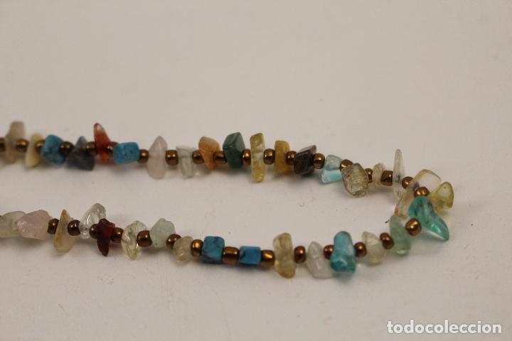 Joyeria: collar con piedras de quarzo - Foto 3 - 268866179