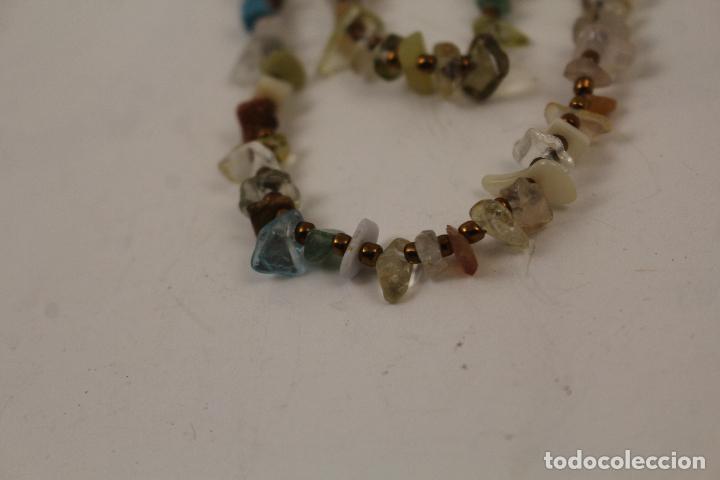 Joyeria: collar con piedras de quarzo - Foto 4 - 268866179