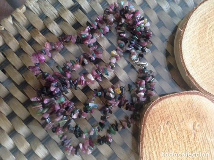 Joyeria: collar en turmalina con cierre de plata 925 - Foto 4 - 236159505