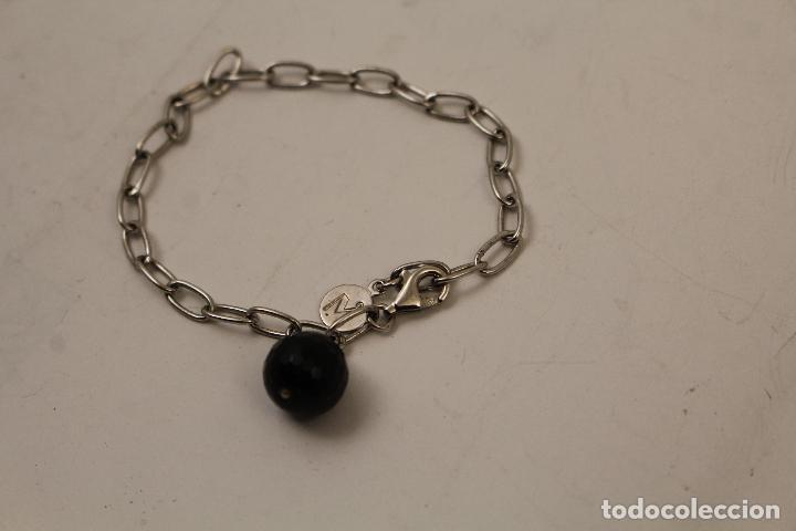 Joyeria: pulsera en plata 925 con onix - Foto 2 - 268865109