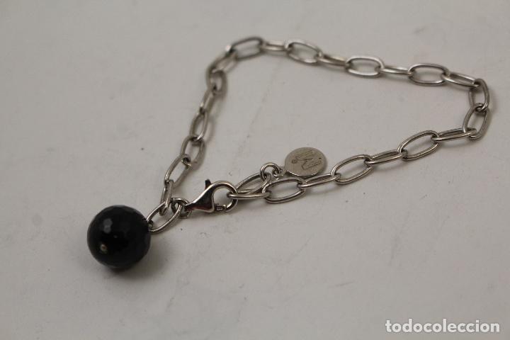 Joyeria: pulsera en plata 925 con onix - Foto 3 - 268865109