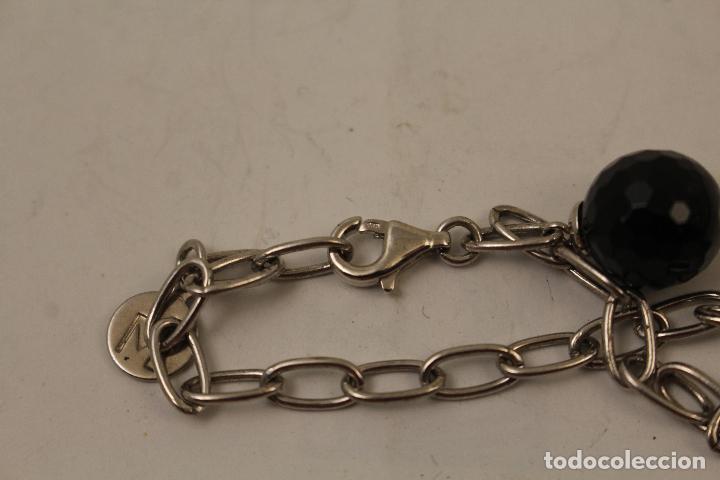 Joyeria: pulsera en plata 925 con onix - Foto 6 - 268865109