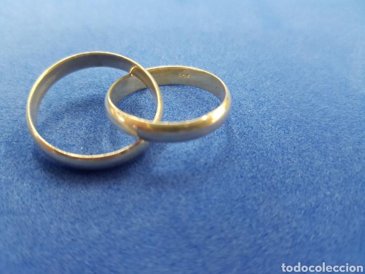Joyeria: Anillo de plata 925 ,dos anillos insertados - Foto 2 - 236216050