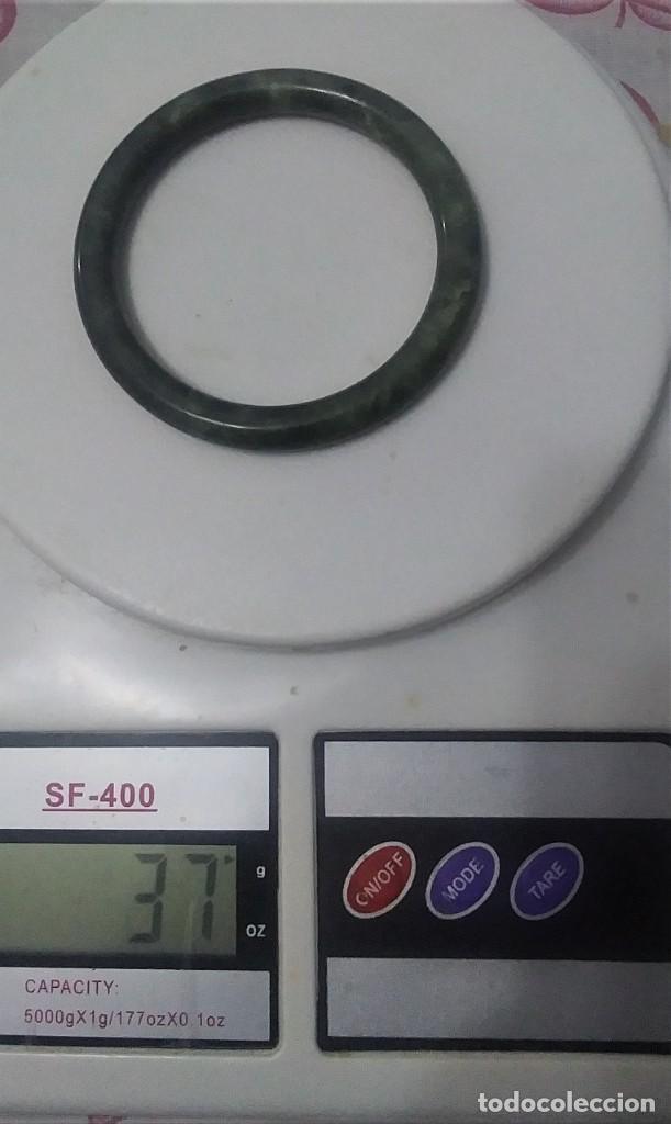 Joyeria: pulsera-brazalete de jade, Años 70. pesa 37 gr, - Foto 3 - 236488800
