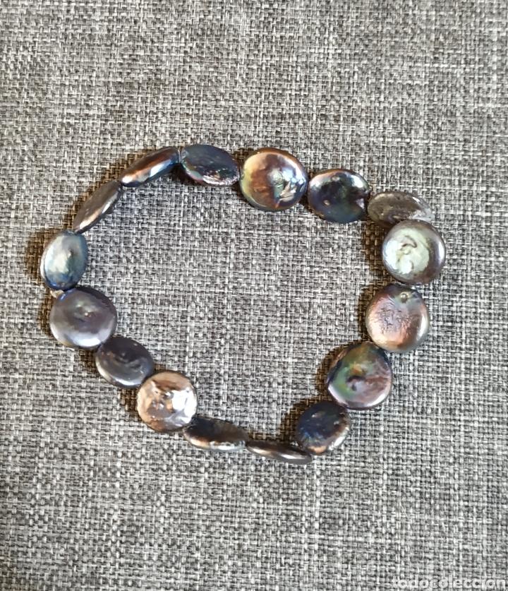 Joyeria: Linda Pulsera de perlas de río, Artesanal - Foto 2 - 236916960