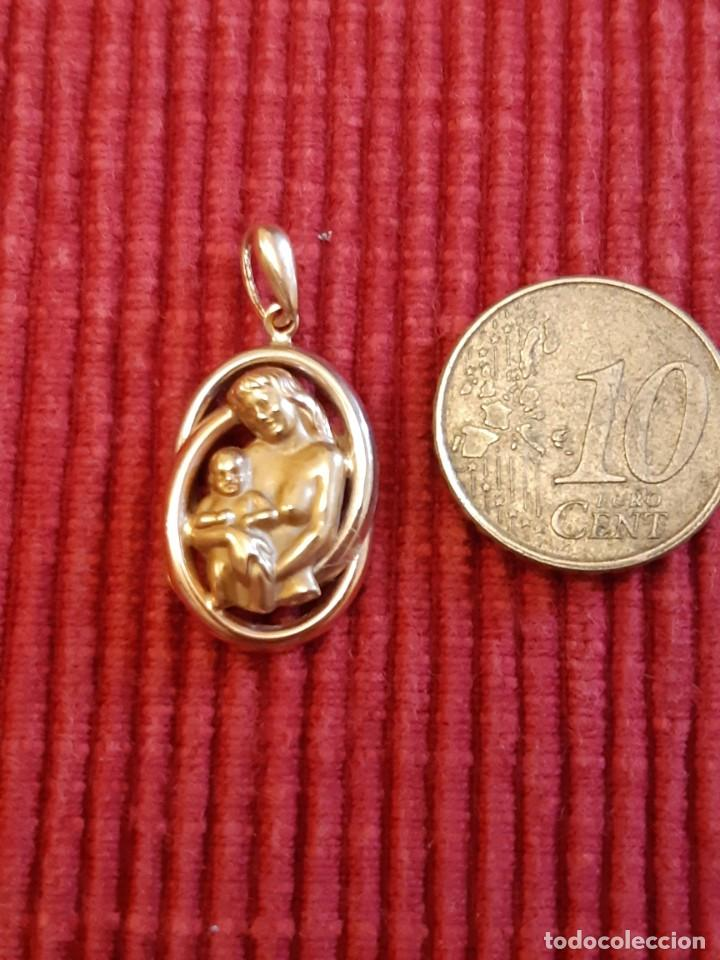Joyeria: Antigua medalla de la madre de oro de 18 quilates - Foto 4 - 237275595