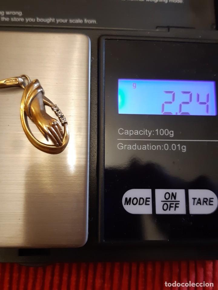 Joyeria: Precioso colgante de oro de 18 quilates - Foto 12 - 237486690