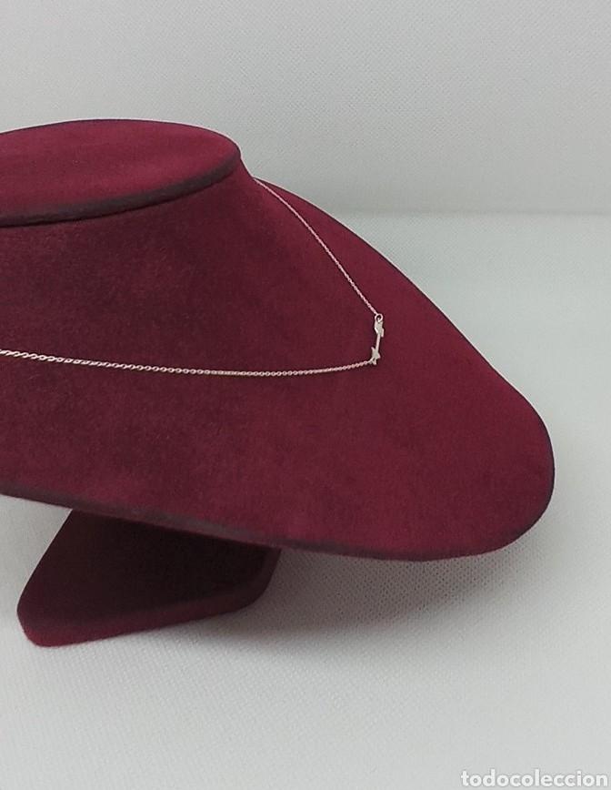 Joyeria: Collar flecha india de plata de 1 ley 925 contrastada - Foto 3 - 237999395