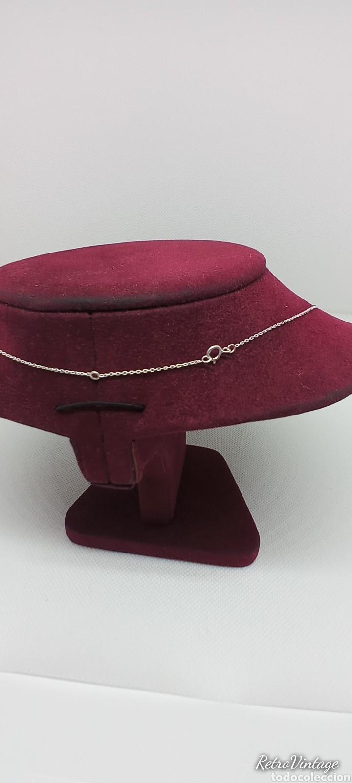 Joyeria: Collar flecha india de plata de 1 ley 925 contrastada - Foto 4 - 237999395