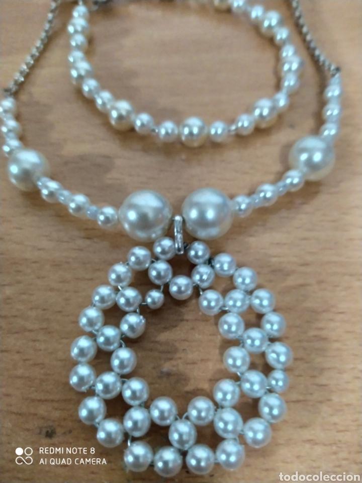 Joyeria: Exhuberante bellísimo conjunto pieza única artesanal de perlas - Foto 2 - 238162085