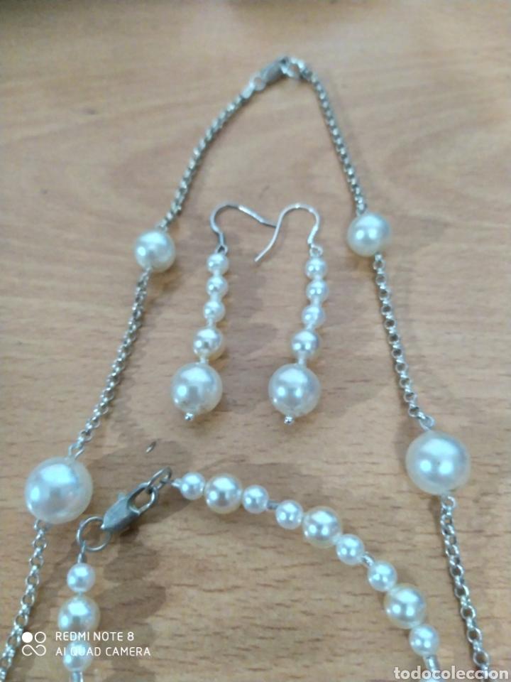 Joyeria: Exhuberante bellísimo conjunto pieza única artesanal de perlas - Foto 3 - 238162085