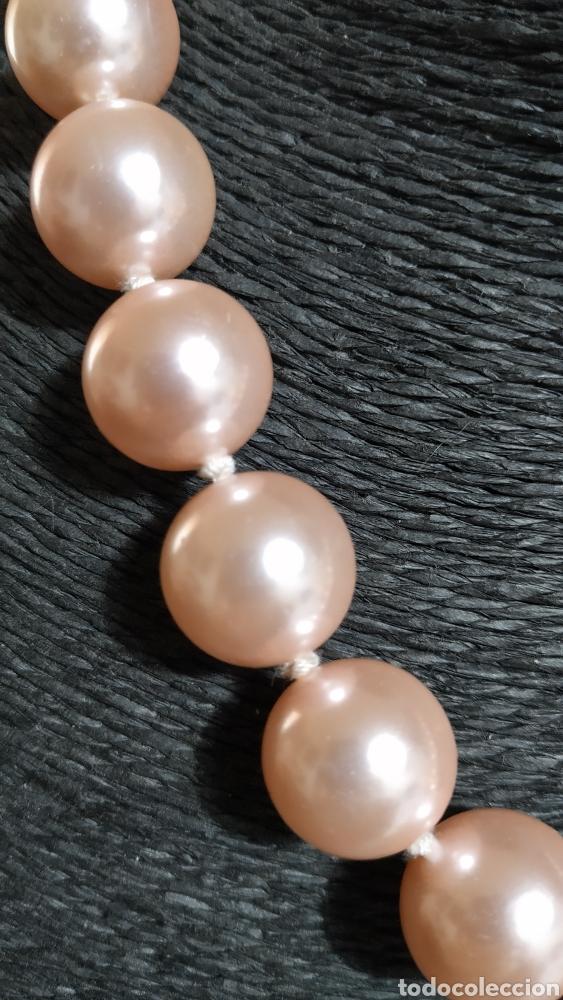 Joyeria: Preciosa Gargantilla perlas rosas,grandes, Paris - Foto 2 - 239420970
