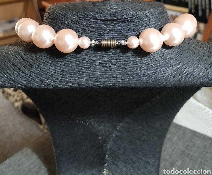 Joyeria: Preciosa Gargantilla perlas rosas,grandes, Paris - Foto 3 - 239420970