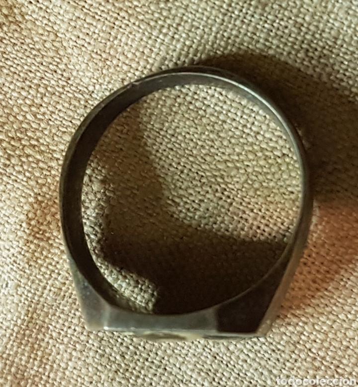 Joyeria: Antiguo anillo plata fotografias de militar y niños - Foto 3 - 240534860