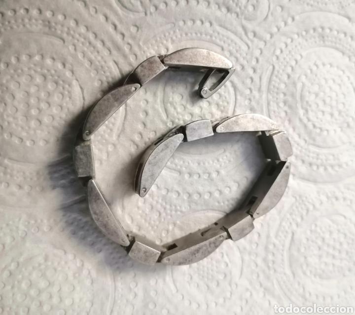 Joyeria: Vintage. Brazalete de plata. Usado. ENVÍO GRATIS. - Foto 4 - 243686820